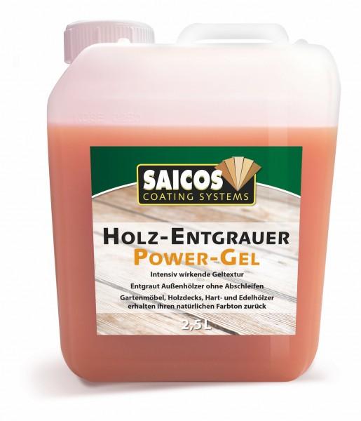 SAICOS Holz-Entgrauer Power-Gel 8133  2,5 L