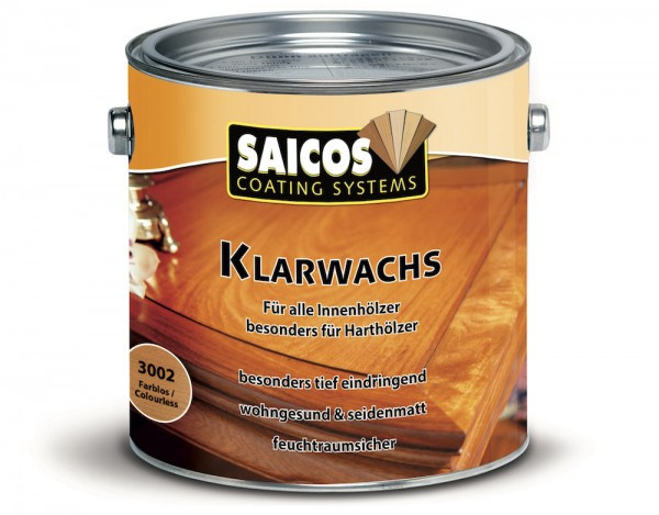 SAICOS Klarwachs Farblos 3002